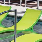 Aqua Sling Pool Chaise Lounges