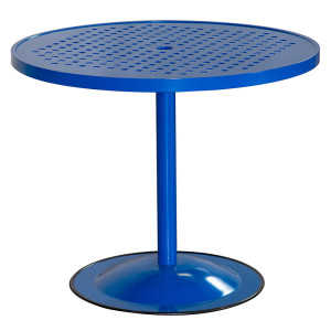 """36"""" Premium Table Top Cubed Pattern with Bistro Pub Base"""