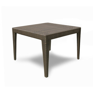 Cuatro Wicker Square Dining Table