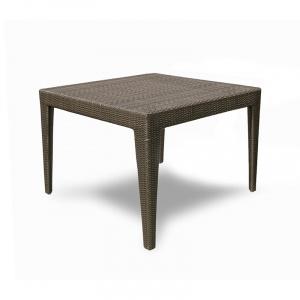 Cuatro Wicker Square Dining Table