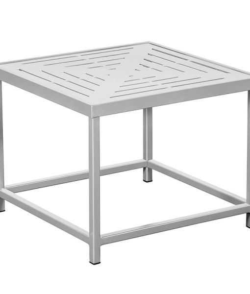 "34"" Slat Square Premium Table Top with Coffee Table Frame"