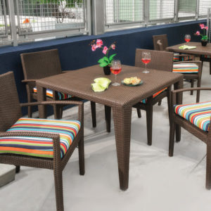 Cuatro Square Dining Table