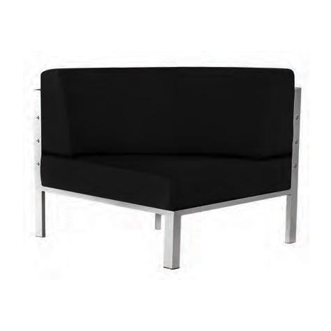 Neo Modular Curved Corner Seat - 6226