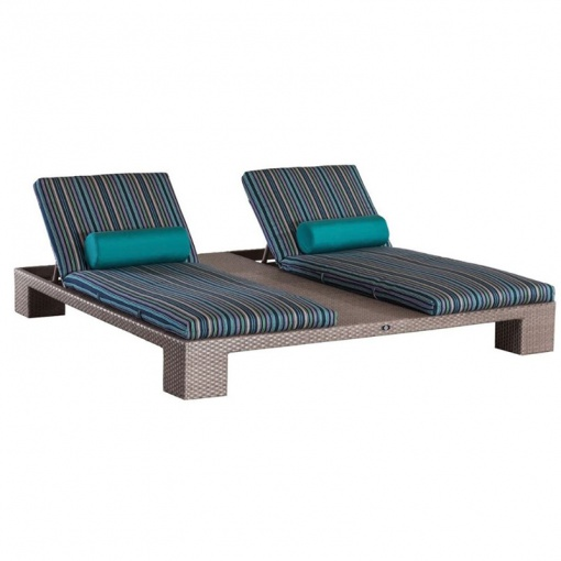 Ciro Wicker Double Chaise 6409
