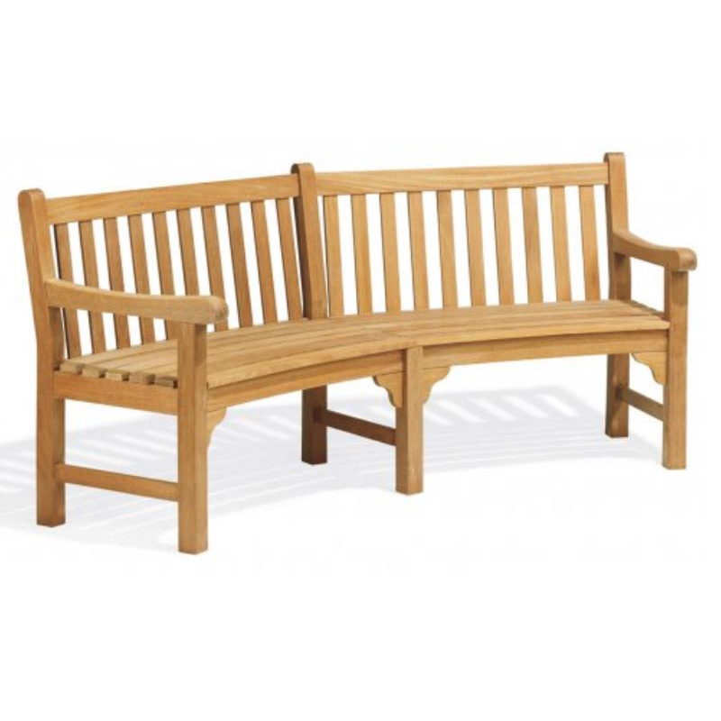 Premium Wood Commercial Patio Furniture Bench, Outdoor Wood